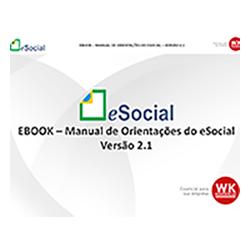 eBook: eSocial - Manual de Orientações do eSocial - Versão 2.1